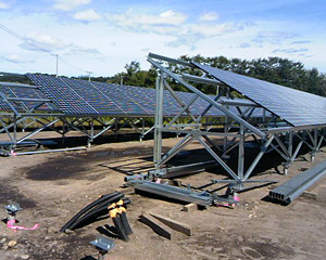 北海道 旭川市 産業用ソーラー発電