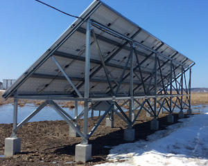 北海道 浜中町 産業用ソーラー発電