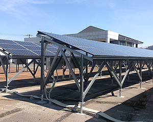 新潟県 新発田市 産業用ソーラー発電