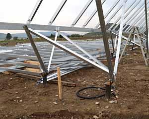 北海道西留辺蘂 太陽光メガソーラー設置