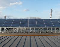 北海道十勝 産業用ソーラー発電